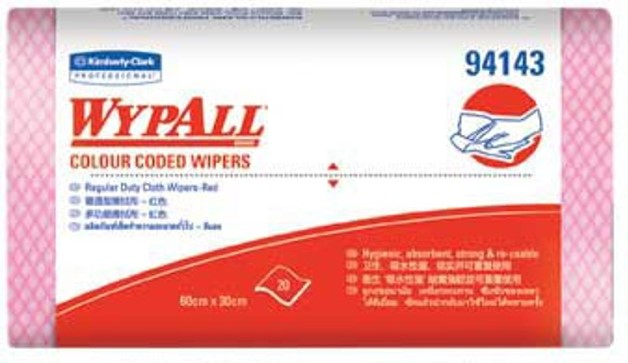 WYPALL* Colour Coded Wipers Regular Duty